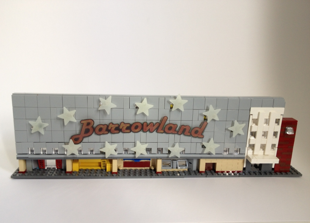 Barrowland white background