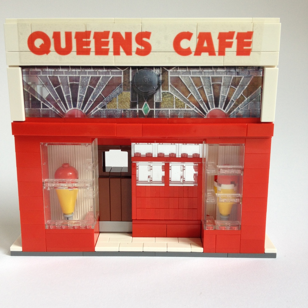 Glasgow Queens Cafe Lego